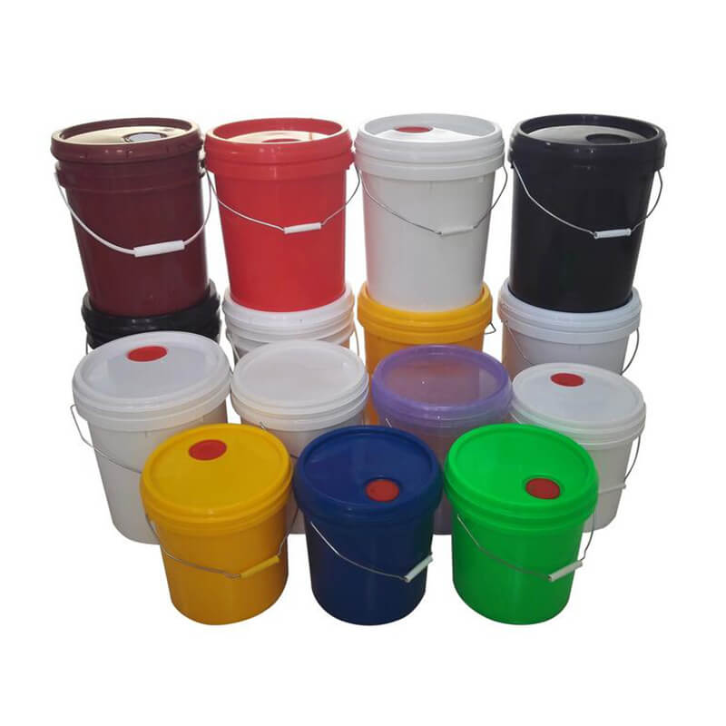 Plastic Round Buckets Pails For Grease