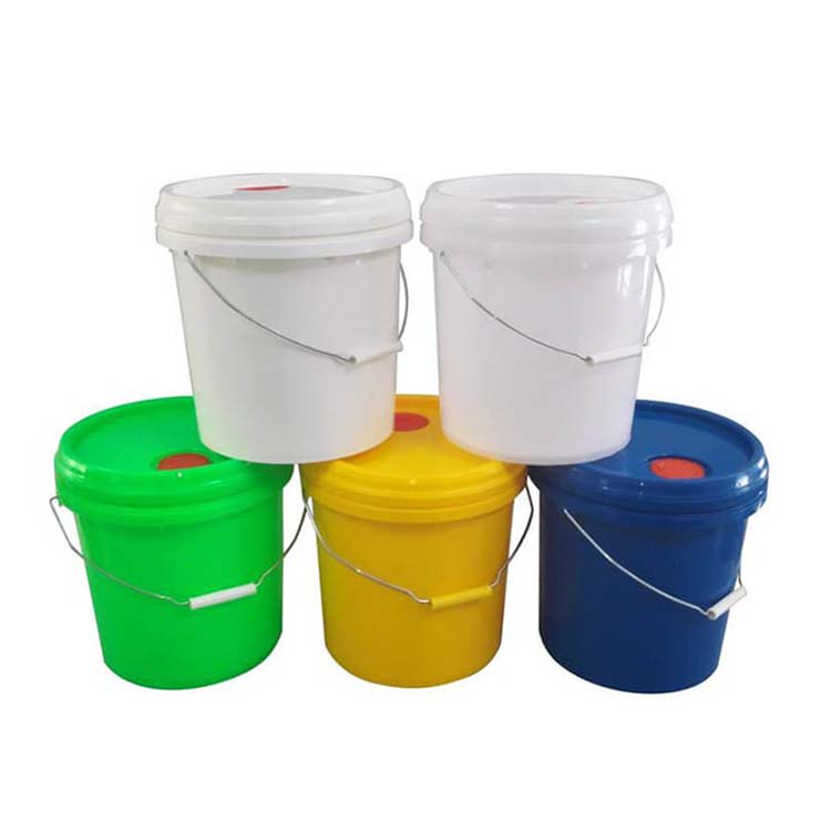 Plastic Round Buckets Pails For Fine Chemicals