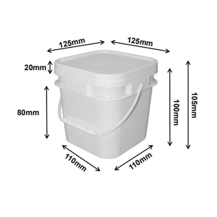 square buckets (1L)
