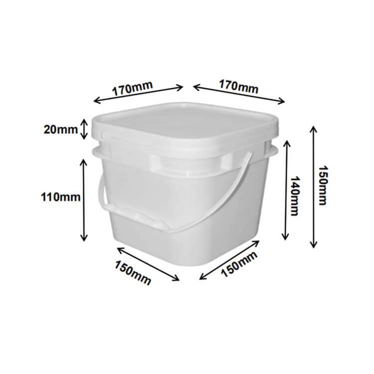square buckets 2.8L
