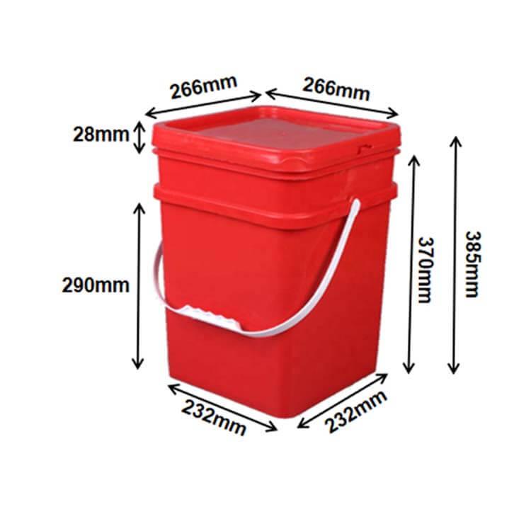 square buckets (20L)