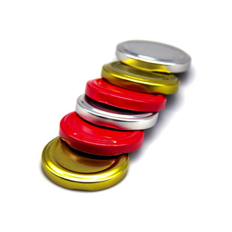 twist off metal lids